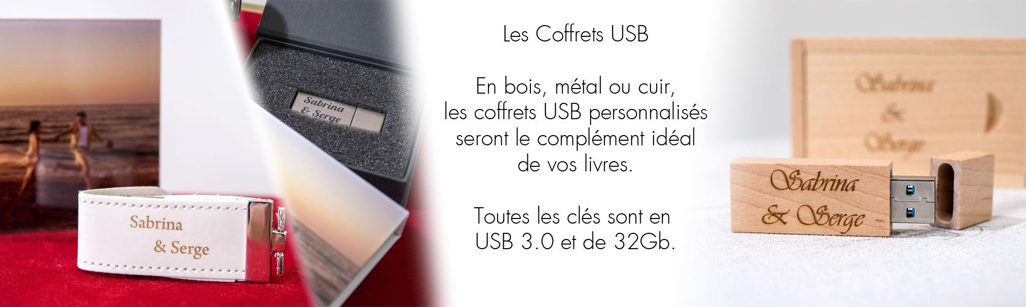 Coffrets USB
